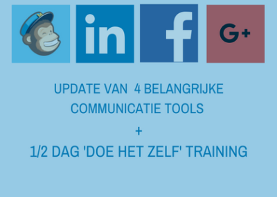 UPDATE COMMUNICATIE TOOLS