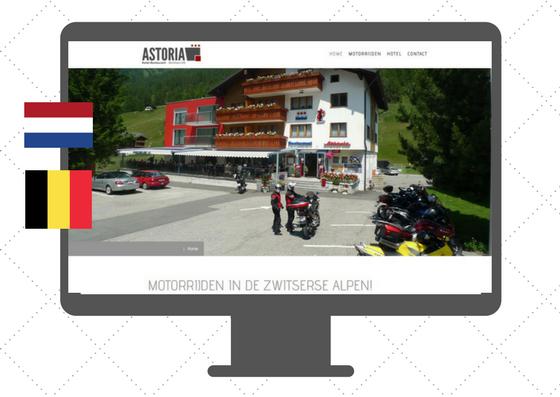 Website in Dutch